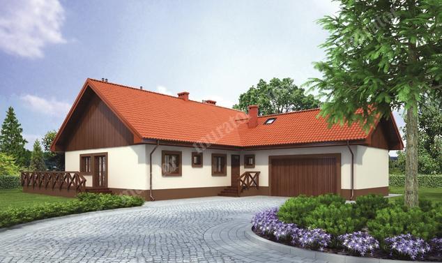 Projekt domu:  Murator C253   – Rozsądny